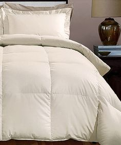 look at this sand downfeather comforter on zulily today