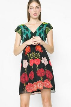 Summer chiffon dress | Desigual.com B