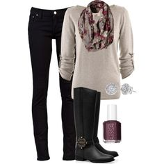 outfits with black riding boots pinterest | Fall Fashion 2013 | Riding Boots | Fashionista Trends