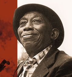 Mississippi John Hurt, my favorite blues artist. Van & I tried to find his gravesite in his now all-but-vanished hometown of Avalon, Mississippi. However, we hadn't found it by sunset and then we got the car stuck in the mud, so we gave up. A memorable experience nonetheless.