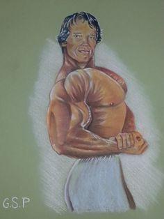 Arnold Schwarzenegger body building 2