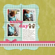 Stamping with Erica: MDS Blog Hop: Winter/Snow