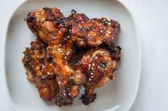 Korean BBQ Chicken Recipe for Wings. Photo and Recipe by Irvin Lin of Eat the Love. www.eatthelove.com