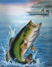 PAINTINGS OF SMALL MOUTH BASS - Google Search