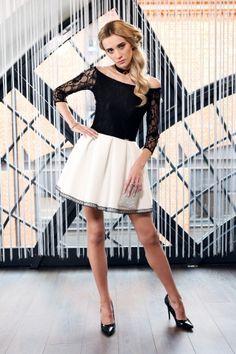 sukienka zaprojektowana przez polską markę s.Moriss, znajdź nas na Facebook!: www.facebook.com/lovesmoriss/  s.moriss s moriss smoriss  sukienka koktajlowa, sukienka, suknia, sukienka na wesele, sukienka wizytowa, koronka, rozkloszowana, kobieca, modna, Ballet Skirt, Facebook, Skirts, Fashion, Moda, Tutu, Fashion Styles, Skirt