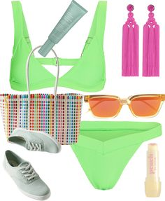 * Not remotely concerned * Outfit | ShopLook Beach Day Outfits, Weekend Vacations, Teen Summer, Outfit Maker, How To Wear, Color, Ideas, Babydoll Sheep, Future