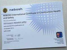 Fake NEBOSH International General Certificate Buy IGC Bestdiploma1