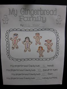 My Gingerbread Family