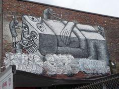 Phlegm - Montreal 2014 Mural Festival