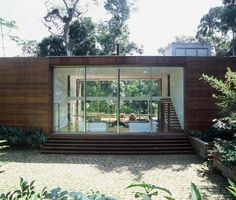 Arquitectura en la selva tropical   Casas