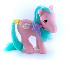 G1 My Little Pony Sundae Best Banana Surprise by CuteVintageToys