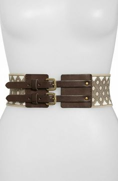 Belgo Lux Printed Stretch Belt available at #Nordstrom