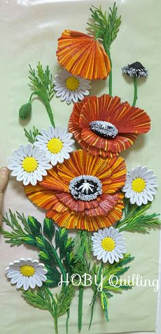 By Ayşın.HOBY Quilling my face page