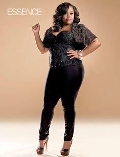 fierce curvy woman