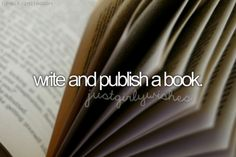 Write and publish a book