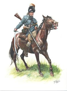 """Dragone del rgt. americano """"North Carolina Rifles"""" - Don Troiani"""