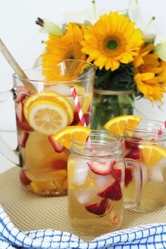 BEAUTY & THE BEARD: TAKE A SIP: SUMMER BERRY+CITRUS SANGRIA