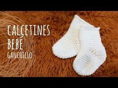 Tutorial Calcetines Fáciles Bebé Ganchillo | Crochet - YouTube