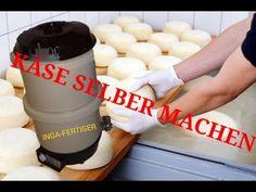 Butter, Käse, Ziegenkäse und Quark selber machen