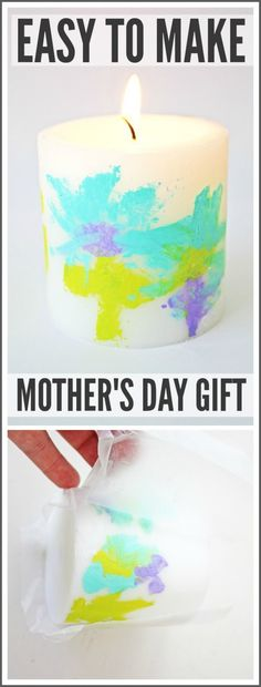 Easy Mother's Day Gift For Your Kids To Make | CatchMyParty.com
