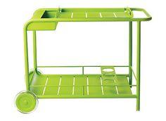 What a cute bar cart
