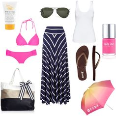 Get me to the Beach!, created by wernerusc on Polyvore