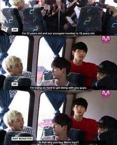 I am sorry but why is Jungkook so shook here why is he always in shook hahahaha