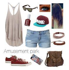 Amusement park outfit idea