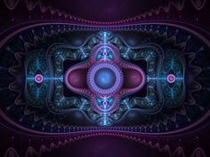 Fractals ♥ by Art Fractal, Fractal Design, Fibonacci Spiral, New Media Art, Phone Screen Wallpaper, Digital Collage, Digital Art, Patterns In Nature, Black Wallpaper