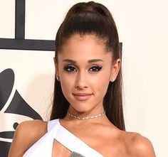 Ariana Grande's signature ponytail