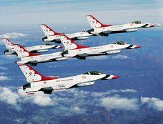 AF Thunderbirds saw them yesterday