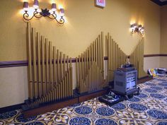 Capital Audiofest: Organ speakers.