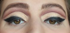 Drag queen eye look