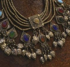 queenraisin:    Kuchi Necklace from Afghanistan