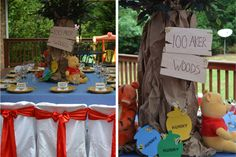Posh Tot Events — Winnie the Pooh and Tiger Too! A Vintage Winnie the Pooh Party