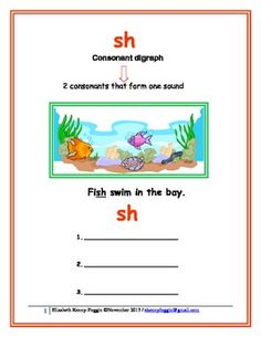 "This lesson focuses on the multisensory apapproach to identify the consonatn digraph ""sh."" It is a multisensory lesson that includes numerous activities to promote a student's reading development through the following skills:Word recognitionComprehensionReadin FluencyComprehensionWriting developmentIf I can assist you, please contact me."