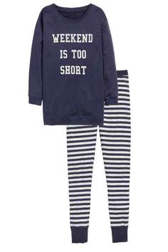 Pyjama set with sweatshirt