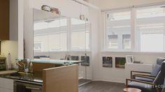 Tiny Spaces: A SF Couple's Stylish Loft Studio