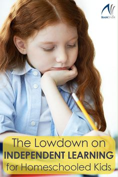 The Lowdown on Independent Learning for Homeschooled Kids   #homeschooling