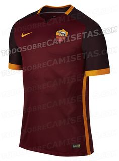 ANTICIPO: AS Roma Nike 15/16 Home Kit | Todo Sobre Camisetas