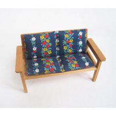 Vintage Lisa of Denmark Garden Seat V RARE Lundby Scale | eBay