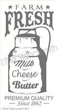 2105 - Farm Fresh Milk Cheese Butter
