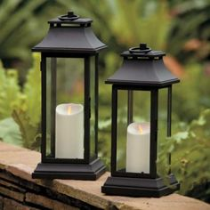 Luminara outdoors range in a Lantern - Create, decorate & make the most of your garden this summer!