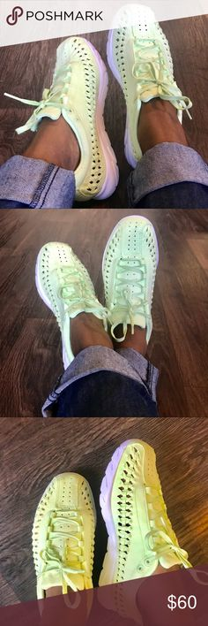 buy popular 3a1e1 75157 Nike womens mayfly woven QS lime green size 7.5 100% Authentic Nike  womens mayfly woven