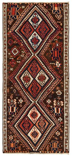 This is a decorative Van Kilim Rug handwoven around 80 years ago. This vintage rug is quite old and very good quality of threads are used. Diy Bathroom Decor, Bathroom Rugs, Vintage Vans, Turkish Kilim Rugs, Bohemian Rug, Hand Weaving, Brown, Mocha, Mauve