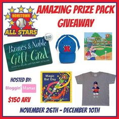 Hometown All Stars Prize Pack Giveaway