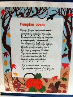 Our Pumpkin Unit