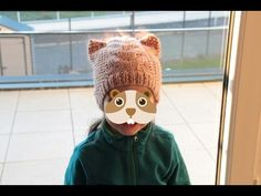 Tricot facile: bonnet chat - YouTube