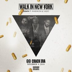 """Grafh and Ted Smooth show us how they """"Walk In New York"""" with their latest single featuring Raekwon and Vado. This will land on their joint project88 Crack Eradropping tomorrow, as they show us w..."""