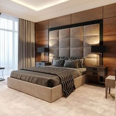34 The best modern bedroom furniture to get a luxury accent - Bedroom furniture is ideally a good investment and also enhances your bedroom decor. Modern furniture makes your room elegant and . Room Design Bedroom, Bedroom False Ceiling Design, Master Bedroom Interior, Modern Master Bedroom, Bedroom Furniture Design, Home Decor Bedroom, Accent Furniture, Bedroom Ideas, Bedroom Designs